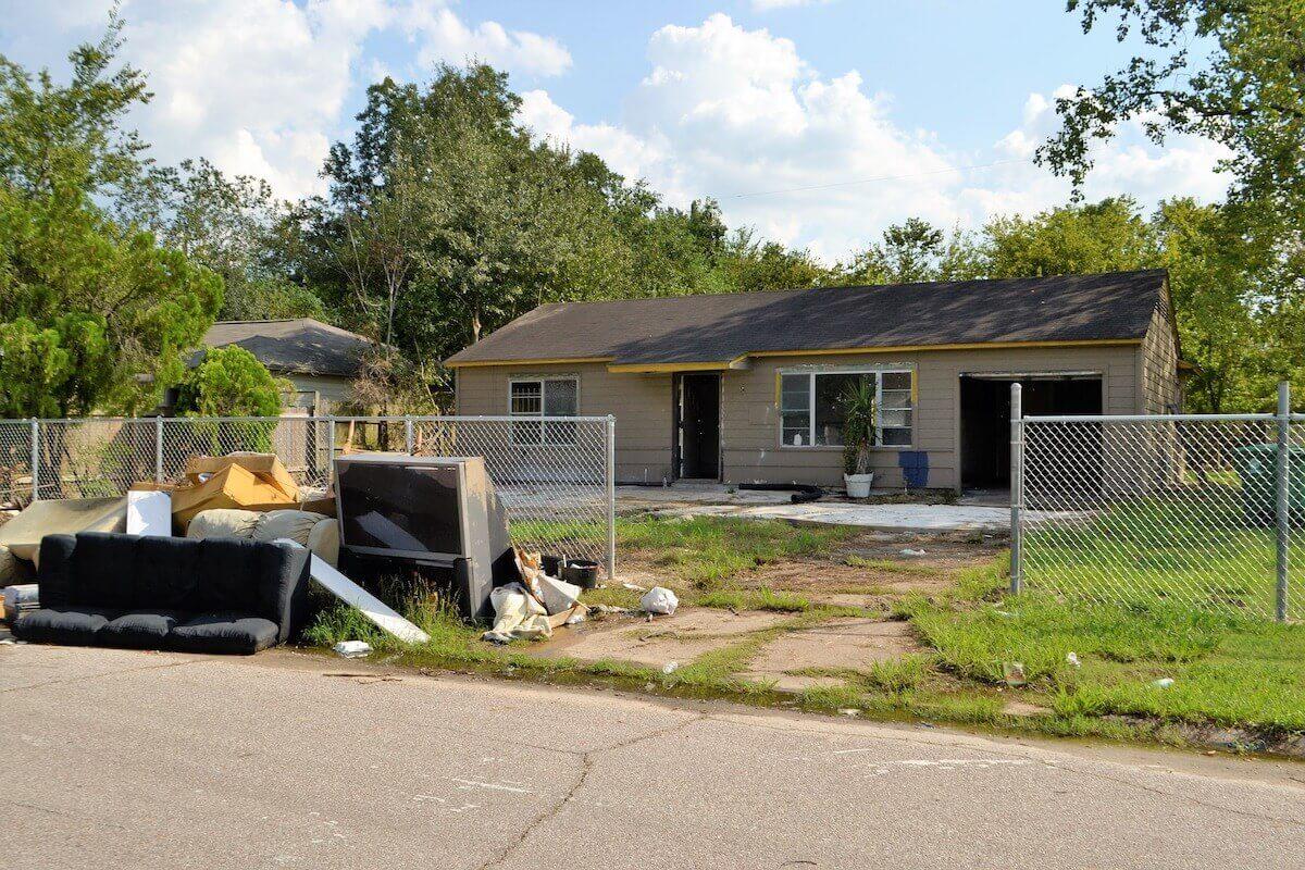 Vider sa maison rapidement après un sinistre