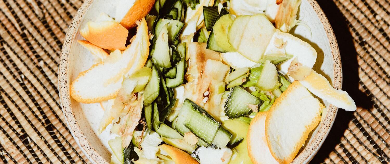 Déchets alimentaires prêts pour le compostage