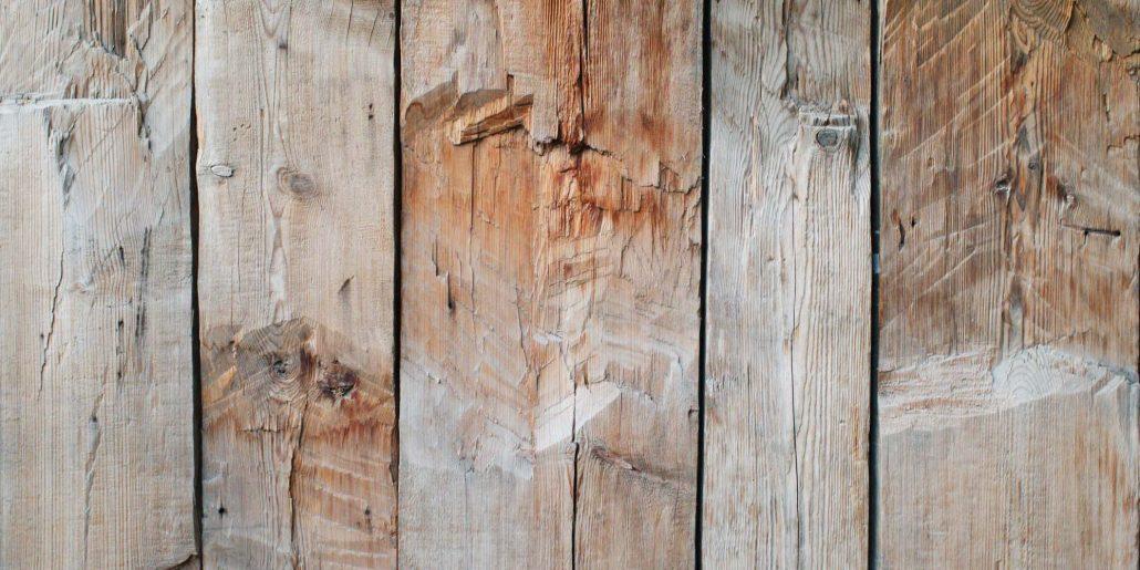 Photo planches de bois secs