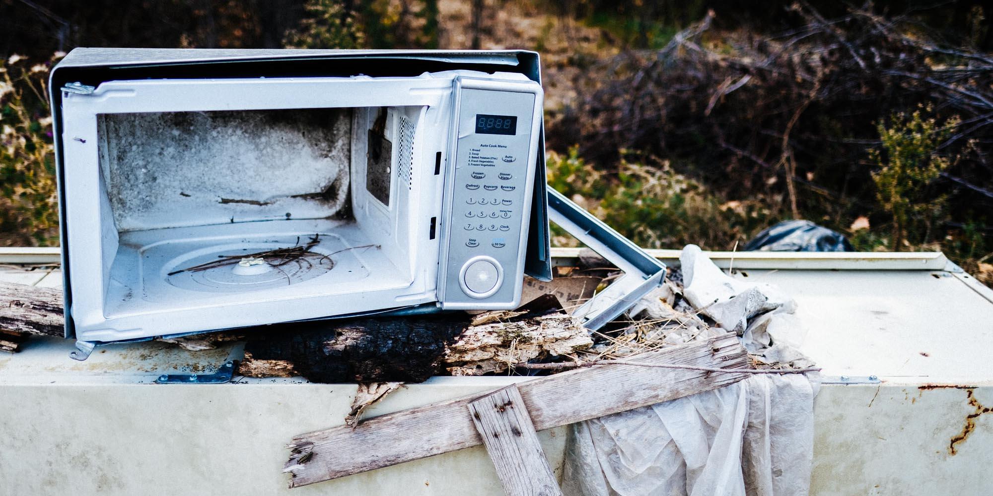 Image appareil ménager cassé