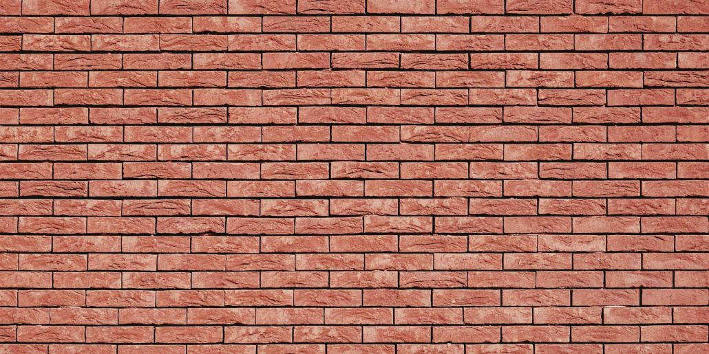 Image mur de briques d'argile