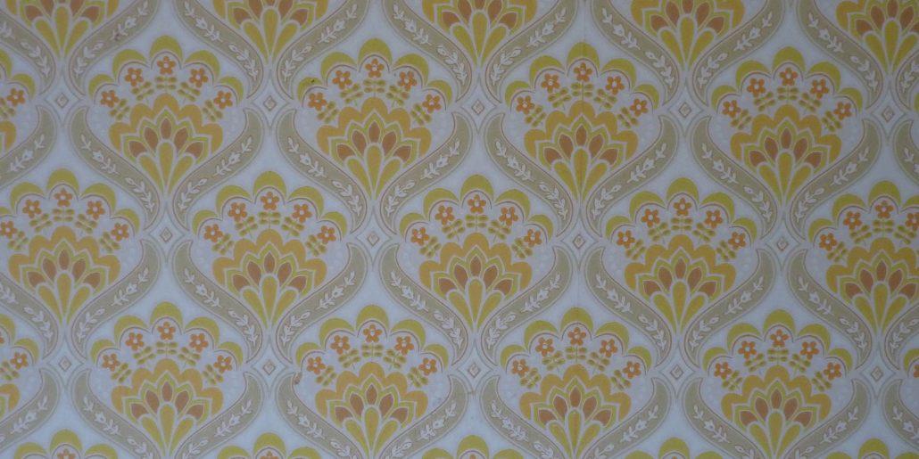 Image papier peint avec des motifs jaunes