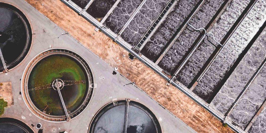Image de boues d'épuration industrielles